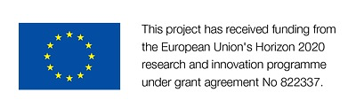 European Commission Logo with information about our funding arrangement. This project has received funding from the European Union's Horizon 2020 research and innovation programme.